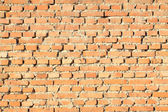 Red brick walls — Foto Stock