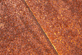 Oxidation rust brown iron plate — Stock Photo