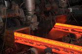 High temperature steel ingots — Stock Photo
