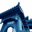 Ancient Chinese traditional architecture in handan city — Stock Photo