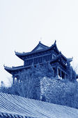 Ancient Chinese traditional buildings — Stock Photo
