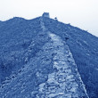 The Great Wall in north china — Stock Photo