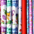 Printed cloth — Stockfoto