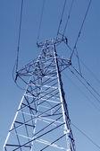 Elektryczna wieża — Zdjęcie stockowe