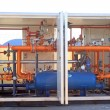 Stock Photo: Natural gas supply equipment