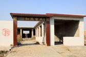 En construcción de viviendas demolidas — Foto de Stock