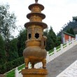 Stock Photo: Huge censer in temple