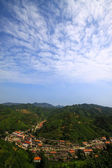 Mountain village scenery — Stock Photo