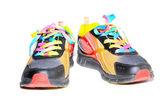 Renkli spor ayakkabı — Stok fotoğraf