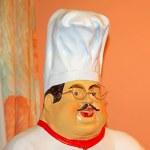 Restaurant waiter ceramic products — Stock Photo #35320013