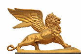 Golden statue — Stock Photo
