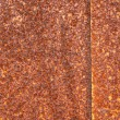 Stock Photo: Oxidation rust brown iron plate
