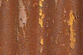 Textur auf der eisenplatte — Stockfoto