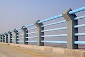 Bridge railings — Stock Photo