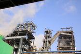 Equipamentos de produção de aço da empresa — Foto Stock