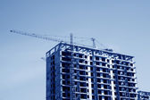 High rise building in the blue sky — Stock Photo