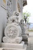 Antika kinesiska traditionella stenhus stil — Stockfoto