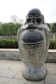 Obrázek buddha břicho v parku v chrámu — Stock fotografie