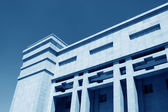Building under the blue sky — Stock Photo