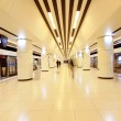 Modern hall in Beijing subway station — Stock Photo #35519213