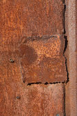 Oxidation rust iron plate  — Stock Photo