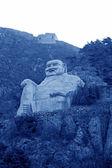 Figure of Buddha in a scenic spot — Stock Photo