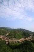 Ορεινό χωριό τοπίο — Φωτογραφία Αρχείου