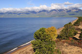 Siberia. The eastern shore of Lake Baikal. — Stock Photo
