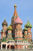 Moscow. St. Basil's Cathedral. — Stock Photo