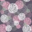 Abstract seamless polka dot circles pattern — Stock Vector #13193543
