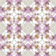 Abstract floral kaleidoscope seamless pattern — Stock Photo #15324959
