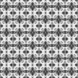Abstract seamless geometric  pattern — Stok Vektör