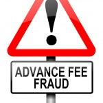 Advance fee fraud concept. — Stock Photo #11106383