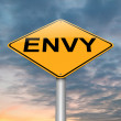 Stock Photo: Envy concept.