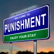 Punishment concept. — Foto de Stock