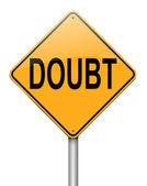 Doubt concept. — Stock Photo