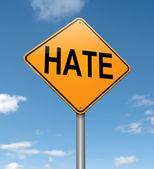 Hate concept. — Stock Photo