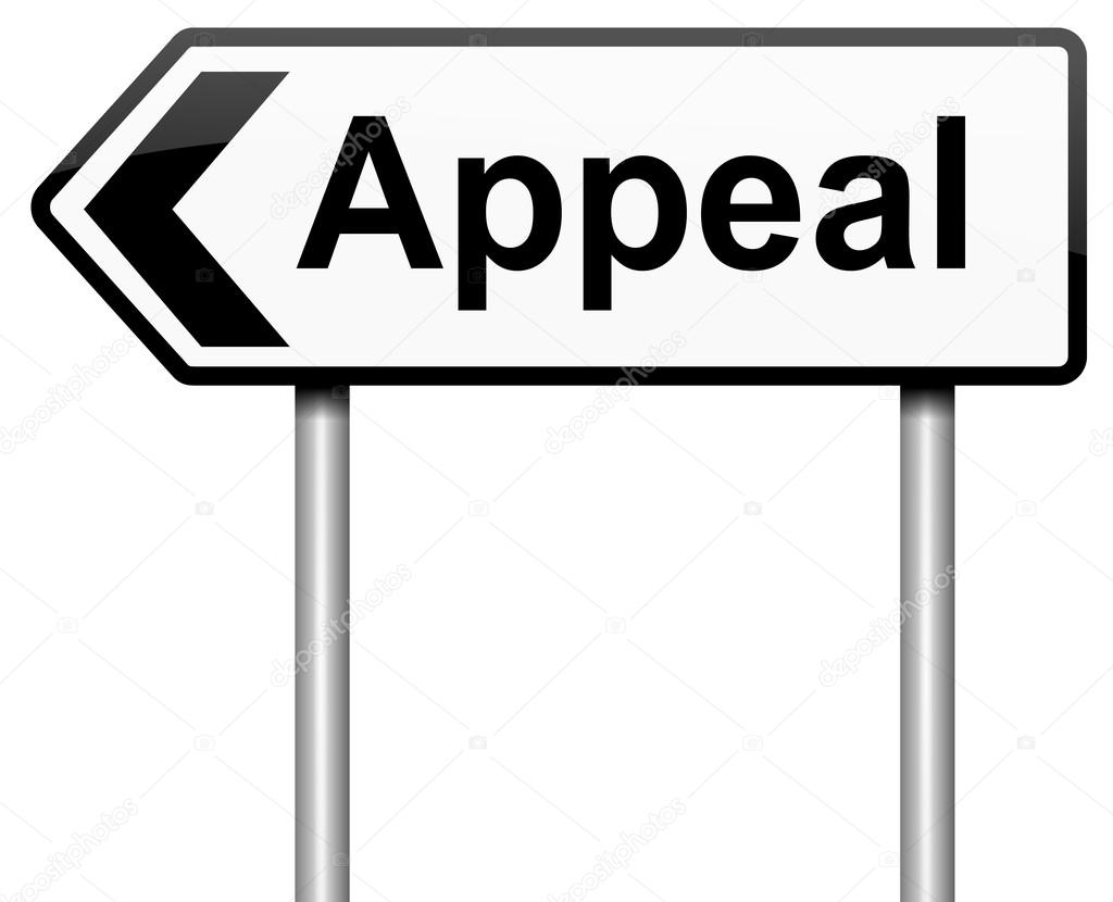 Illustration depicting a roadsign with an appeal concept. White background.  Stock Photo #12519900