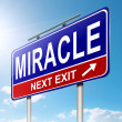 Stock Photo: Miracle concept.