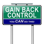 Gain control concept. — Stock Photo