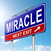 Miracle concept. — Stock Photo