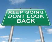 Keep going. — Stock Photo