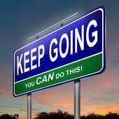 Motivational message. — Stock Photo