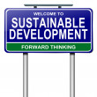 Stockfoto: Sustainability concept.