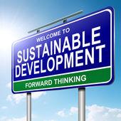 Conceito de sustentabilidade. — Foto Stock