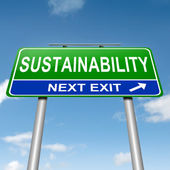 Sustainability concept. — Stock fotografie
