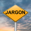 Jargon concept. - Stockfoto
