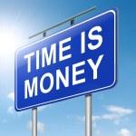 temps est de l'argent — Photo