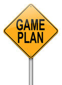 Game plan concept. — Stock Photo