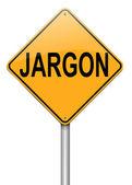 Jargon concept. — Stock Photo